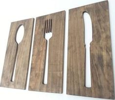 oversized fork and spoon - Google Search