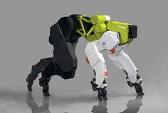 Runner mech sci fi armor, cyborgs, robot design, game design, character c. Character Concept, Character Art, Character Design, Science Fiction, Robot Animal, Mekka, Robot Concept Art, Robot Art, Sci Fi Armor
