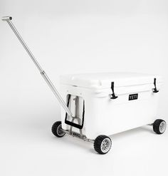 Badger Wheels™ Combo - Two Axles and Handle for YETI Tundra Coolers - CoolerExtras.com