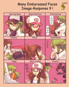 Many Embarassed Faces Image-Response 9! by Sin-D-Hellian on DeviantArt