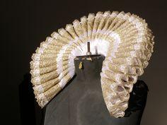 Elizabethan Standing Ruff Collar and Cuffs Custom Order for Caroline