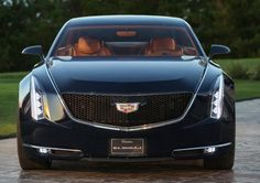 Cadillac shows off big two-door coupe concept car