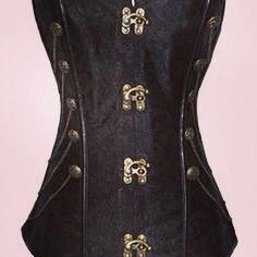 Steampunk Steel Boned Corset  Please like our page on Facebook! https://www.facebook.com/LovelyLadyCorset