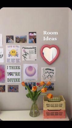 Room Design Bedroom, Room Ideas Bedroom, Girls Bedroom, Bedroom Inspo, Bedrooms, Pastel Room Decor, Cute Room Decor, Pastel Bedroom, Study Room Decor