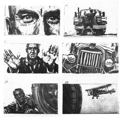 hitchcock storyboard - Google Search
