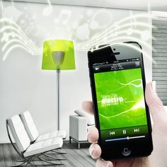 Bluetooth Speaker LED Light Bulb by AwoX #AppControlled, #Awesome, #Bluetooth…
