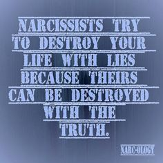 Narcissists try.....