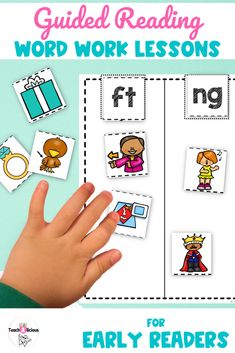 Teach targeted spelling with this word work toolkit and lesson plans bundle. Ideal for small group and guided reading groups. The activities are design by level and each lesson comes with a detailed list of the materials needed for each lesson. These lessons provide a step by step how-to-teach lessons for early readers in kindergarten, first grade or 2nd grade.