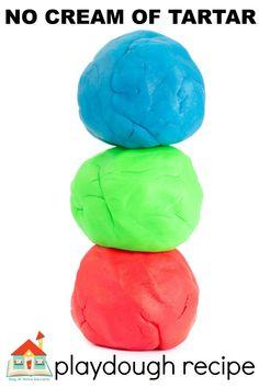 Salt Playdough Recipe, Best Homemade Playdough Recipe, Cooked Playdough, Edible Sensory Play, Baby Sensory Play, Sensory Table, Sensory Activities For Preschoolers, Playdough Activities, Cream Of Tarter