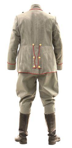 WW1 German p08 officers uniform - rear