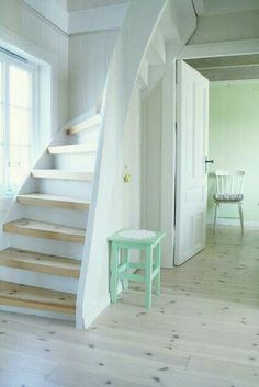 Stairs can be enhanced using a choice of railings. The stairs are downhill, providing you an accessibility to the loft. Loft bed is… Continue Reading → Small Staircase, Staircase Design, Spiral Staircase, Space Saving Staircase, Steep Staircase, Rustic Staircase, Staircase Ideas, Loft Stairs, House Stairs