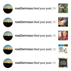 Shot out to @road2emmaus! Go follow right now for the missing piece of the puzzle!