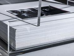 Beautiful plexiglass photo album by Mirò