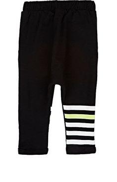 Joah Love Striped-Leg Cotton French Terry Sweatpants - Bottoms - 505246865