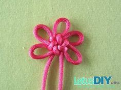 Chinese knot-flower knot -----LetusDIY.ORG|DIY Everything here