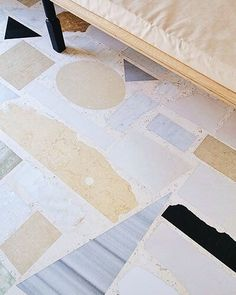 Floor inspiration for our guesthouse #terrazzo