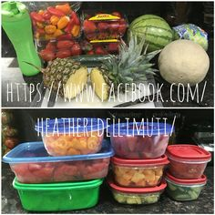 Meal prep for success! Visit my page for more 21 day fix tips & tricks! Click the link!