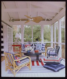 Country Kitchen -porch off of kitchen - thank you from @Gayle Roberts Merry Homes and Gardens!@TheDailyBasics #ClassicDecor #AmericanDecorating  #Decor