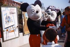 Scary vintage Disneyland