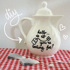 Sharpie teapot tutorial- make it!