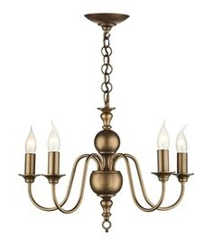 Classic bronze 5 light chandelier. Chandeliers & Lighting in London, Order from The Lighting Store Direct