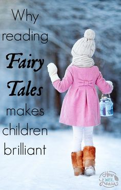 Why it is so important to read children fairy tales!