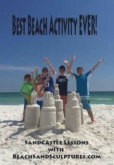 "SandCastle Lessons are the ""Best Beach Activity EVER"""