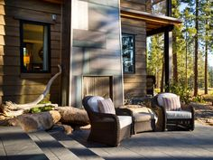 Area in between cabin and boathouse? HGTV Dream Home 2014 Outdoor Kitchen Pictures   HGTV