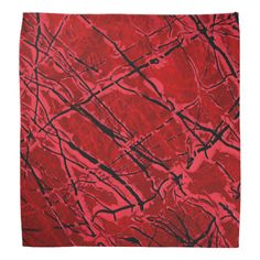 BLOOD RED ROYALE (an abstract art design) ~ Bandana  Original paintings can be found for sale through my Amazon store at: http://www.amazon.com/shops/artmatrix or you can make direct arrangements for them through me. JMO Zazzle designs: http://www.zazzle.com/thewhippingpost?rf=238063263784323237 To help an artist, you can donate here: http://www.gofundme.com/6am6lg