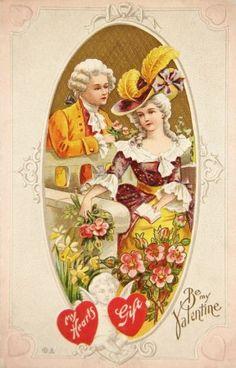 vintage valentine's day postcards | Vintage Victorian Era Valentine's Day Postcard @ Vintage Fangirl