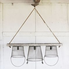 FREE SHIPPING! Shop Wayfair for Creative Co-Op Casual Country 3 Light Kitchen Island Pendant - Great Deals on all Kitchen & Dining products with the best selection to choose from!
