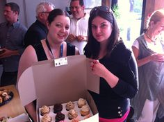 Ryan Hegedus & Stacey Clare, Above and Beyond Cupcakes, Networking Cafe, June 2012 Above And Beyond, June, Cupcakes, College, Events, Happenings, Cupcake, University, Muffin