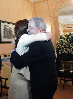 Encuentro en Roma, antes de la reunión en la FAO, con Lula