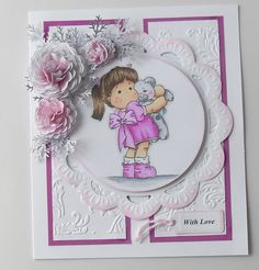 Teddy Bear Love, Magnolia stamps
