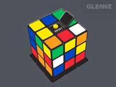 Ilustraciones Geek por Glenn Jones, alias Glennz.  http://store.glennz.com