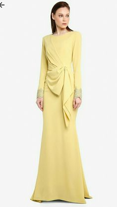 Muslim Fashion, Modest Fashion, Fashion Dresses, Muslimah Wedding Dress, Dress Pesta, Hijab Fashion Inspiration, Mode Hijab, Designer Dresses, Evening Dresses