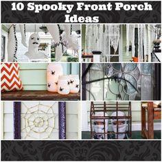 Ten Spooky Front Porch Ideas for Halloween