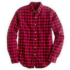 Oxford Buffalo Check Shirt