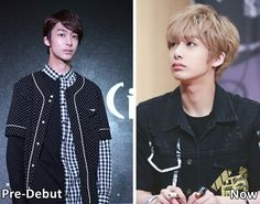 Monsta X Hyungwon Pre-Debut Photos and Now