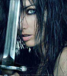 dark haired warrior girl - Google Search