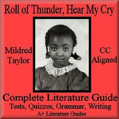 This is an 87 page Complete Literature Guide for the novel, Roll of Thunder, Hear My Cry by Mildred D. Taylor. Put away boring test prep, and teach all of the Language Arts  Common Core Standards using this Literature Guide and a book that students will love! Middle School Literature, Creative Teaching, Teaching Ideas, Grammar Exercises, Poetry Unit, Core Collection, Test Prep, Common Core Standards, Word Work