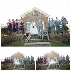 Wedding party  Kathleen Hertel Photography www.kathleenhertel.com