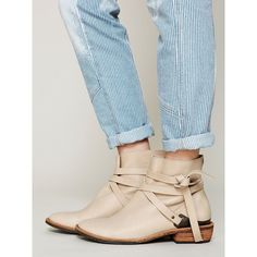 Free People Matisse Blazer Wrap Ankle Boot ($198) ❤ liked on Polyvore