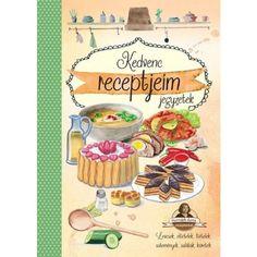 Különösen szép kivitelezésű könyvecskénk segítségével megalkothatja egyedi szakácskönyvét, Horváth Ilona receptjei mellett. Products, Gadget