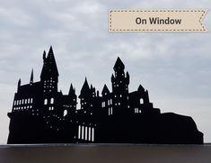 アート - Harry Potter World 2020 Harry Potter Light, Harry Potter Castle, Harry Potter Friends, Harry Potter Bedroom, Harry Potter Birthday, Harry Potter Fan Art, Hogwarts Silhouette, Harry Potter Silhouette, Castle Silhouette