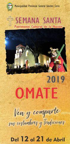c6143944a Desde el 30 de junio de 2010 la #SemanaSanta en #Omate es Patrimonio  Cultural