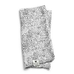 Bamboo Muslin Blanket - Dots of Fauna From Elodie Details BABY GEAR, SS18 - The Gilded Garden