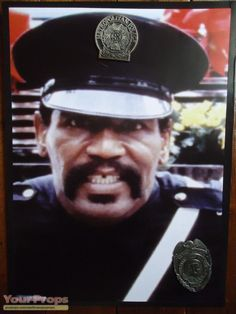 Police Academy Movie, Police Hat, Movies Showing, Cops, Crime, Badge, Captain Hat, Comedy, Breast