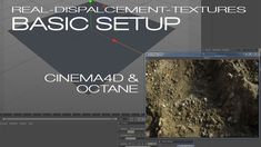 This shows you how fast you can setup a nice and realistic ground using the real-displacement-textures