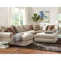 Jasper Collection | Sectionals | Living Rooms | Art Van Furniture - the Midwest's #1 Furniture & Mattress Stores